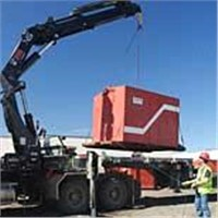 .truck- mounted crane  (knuckle     telescopic)