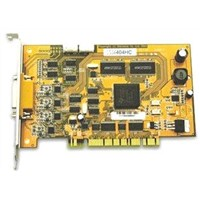 4-Channel DVR Card H.264 Hardware Compression