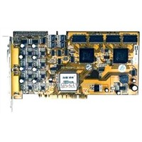 8-Channel DVR Card H.264 Hardware Compression