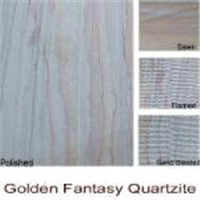 Golden Fantacy Quartzite Slabes & Tiles