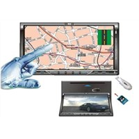 "7""TFT LCD double din monitor"