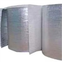 Aluminum foil coated with foam(or bubble) and nonwoven