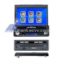 Car DVD with 7 inch motorized touch screen and TV/AM/FM/USB/SD/Bluetooth/GPS
