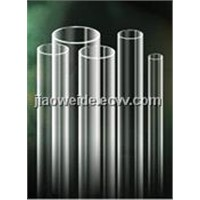 Clear Fused Quartz Glass Tube)