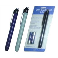 Diagnostic pen light/torch with pocket clip