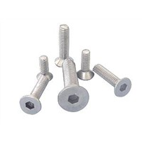 Flat countersunk hex. bolt