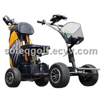 GF-01 Mini Golf Cart, Golf Caddy, Buggy, Trolley