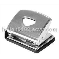 Galvanized meatal paper punch