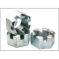 Hex Slotted Head Nut