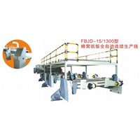 Honeycomb paperboard machine