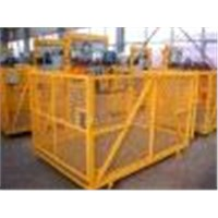 Material Hoist with Rack & Pinion