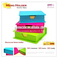 Memo Pad with Fluorecent Memo Holder