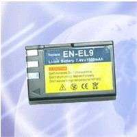 NIKON EN-EL9 digital camera battery