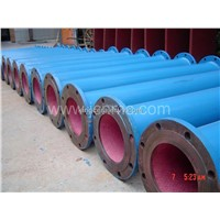 Pipe with Integrated Abrasion-resistant ceramic(RHS)