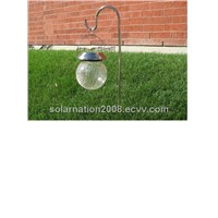 Solar Hanging Crackling Glass Ball(SN-GL-GS-7311)
