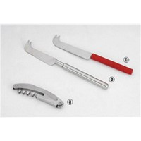 Stainless Steel Kitchen Appliance: Cheese Knife, Set Knife