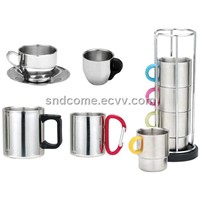 Stainless Steel Tableware: Coffee Cup