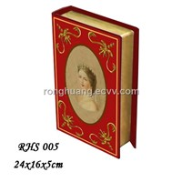 Supply decorative MDF book box / book case / decorative box / wooden box