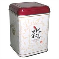 Supply tea tin box packaging