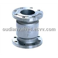 VERTICAL CHECK VALVES