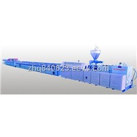 YF180,240,300High Speed PVC Profile Extrusion Line