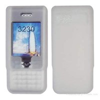 mobile phone crystal cover, silica case,silica bag for cellular phone