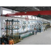 pretreatment and double-coating and double firing production line