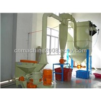rubber grinder, plastic crusher, waste tire processing line, pulverizer
