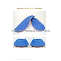 RTV Silicone Injection Moldable Custom Orthotic Insole
