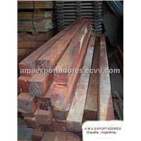 Railway Sleepers of Quebracho