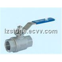 2-PC Investment Casting Ball Valve