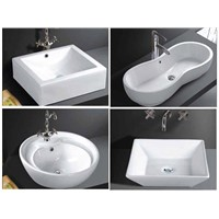 Above Counter Ceramic Sinks (China Bowl)
