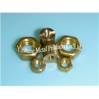 All types of Brass Nuts