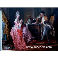Classical People oil painting 009