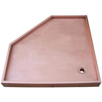 Copper Shower Tray