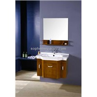 Oak Bathroom Cabinet (XD-7055)