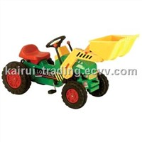 Pedal Tractor-Loader Car (KR-T053)
