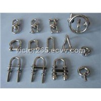 stainless steel bolt / links