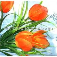 Silk Stockings Artificial Flowers-Tulip