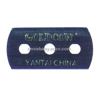 Three Holes Double Edge Blade Shaving Razor Blade