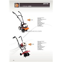 Two Stroke Gasoline Mini Cultivater, Mini Tiller Machine