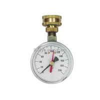 Water test Pressure Gauge (YH63P3/4-11.5NH)