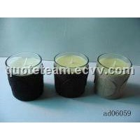 Candles with Glass Candleholder (GC-GCH11)