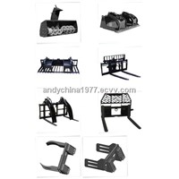 china skid loader attachment