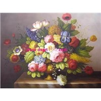 Oil Painting - Classical Flower