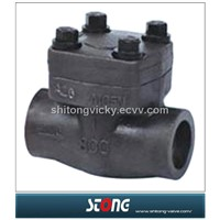 Forged Steel Tread Check Valve (H44H)