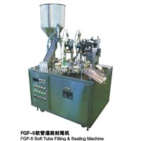 Laminated Tube Filling & Sealing Machine (FGF-5)