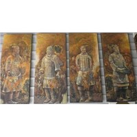 Terra-Cotta Warriors & Horses Group Painting (D8-hz000)