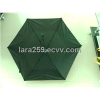 3 folding windproof umbrella,
