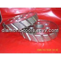 Diamond Sloted Grinding Wheels for FRP Pipe